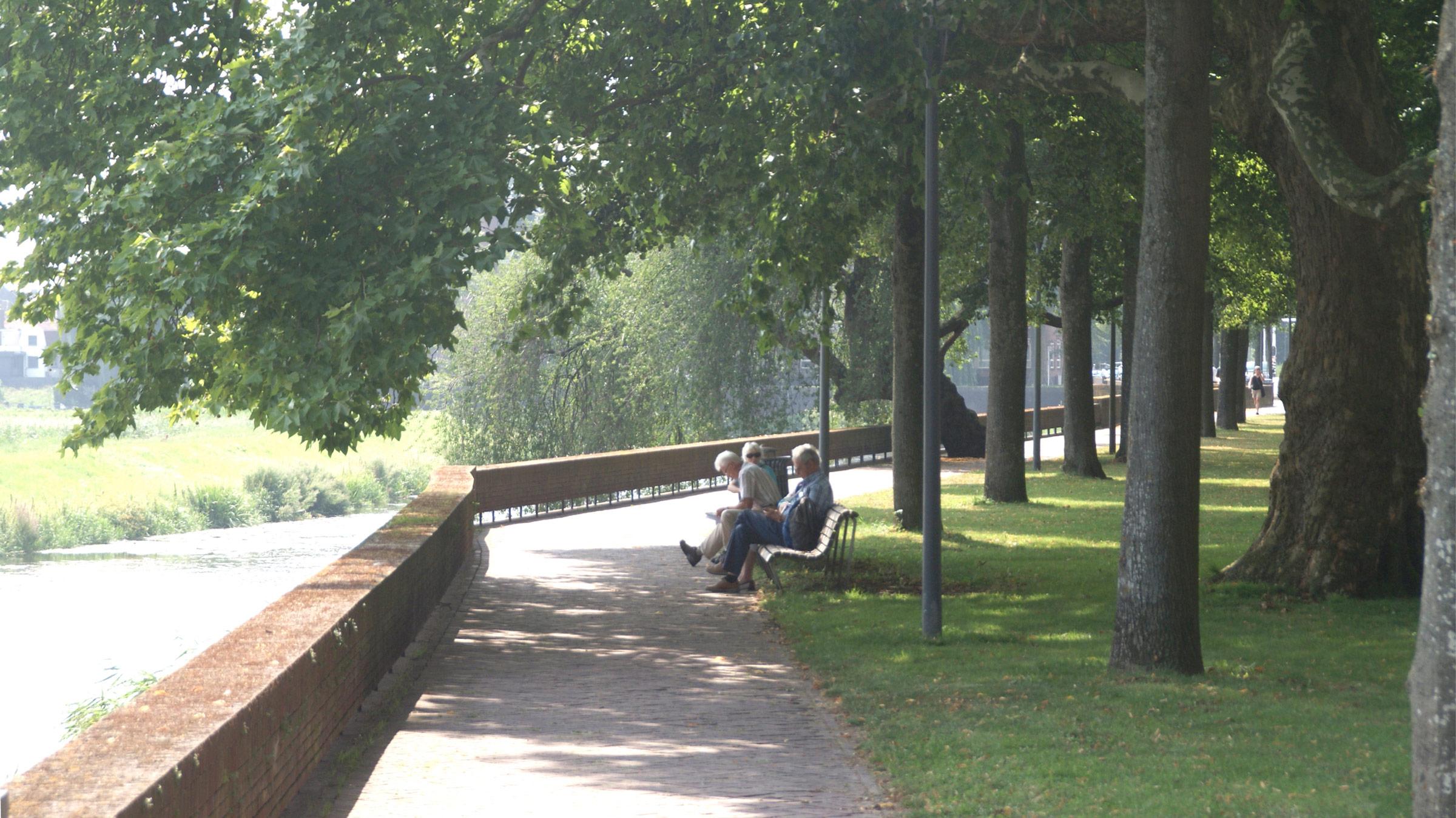 Parklaan en Zuidwal