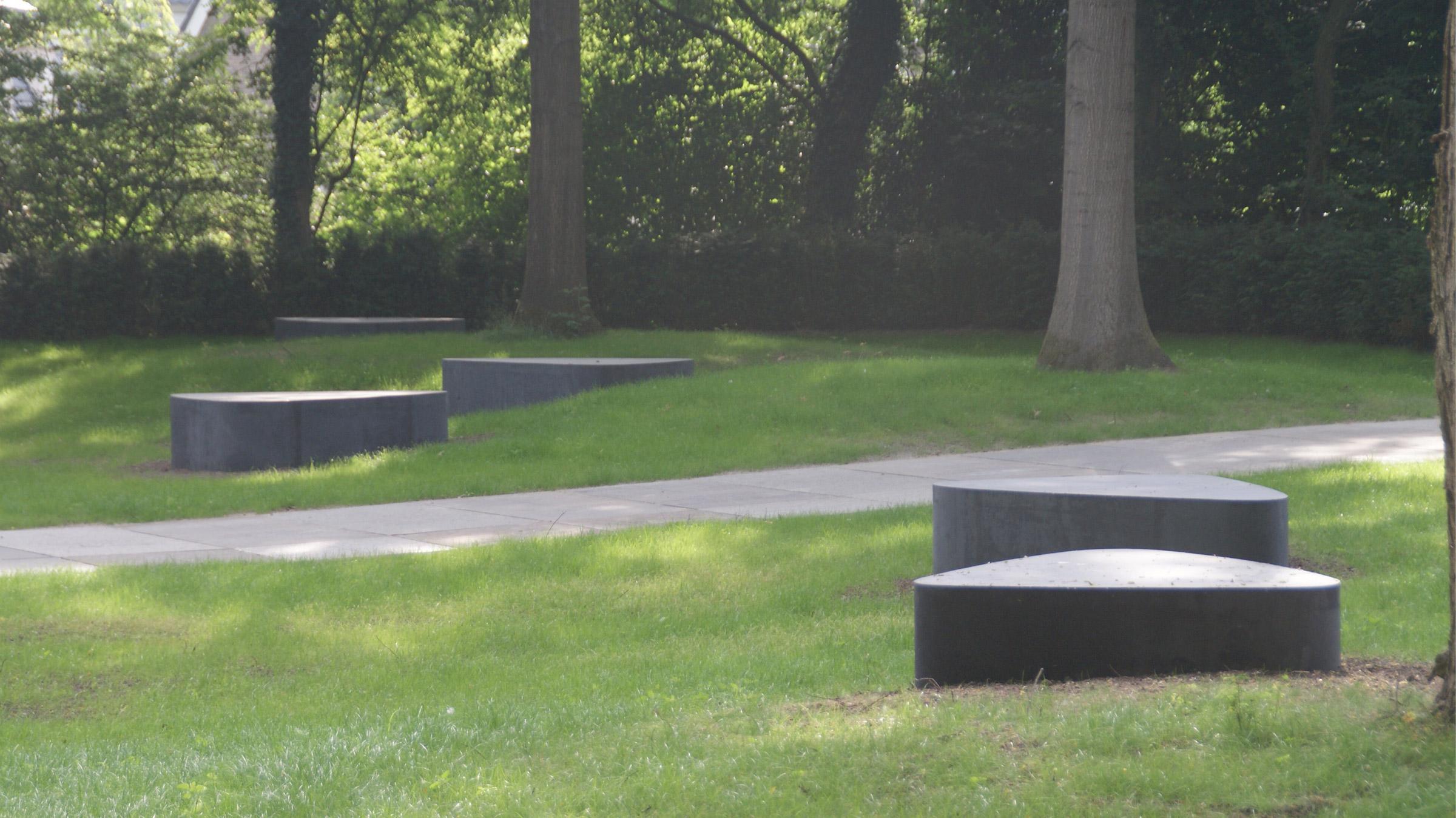 Strooiveld begraafplaats Orthen